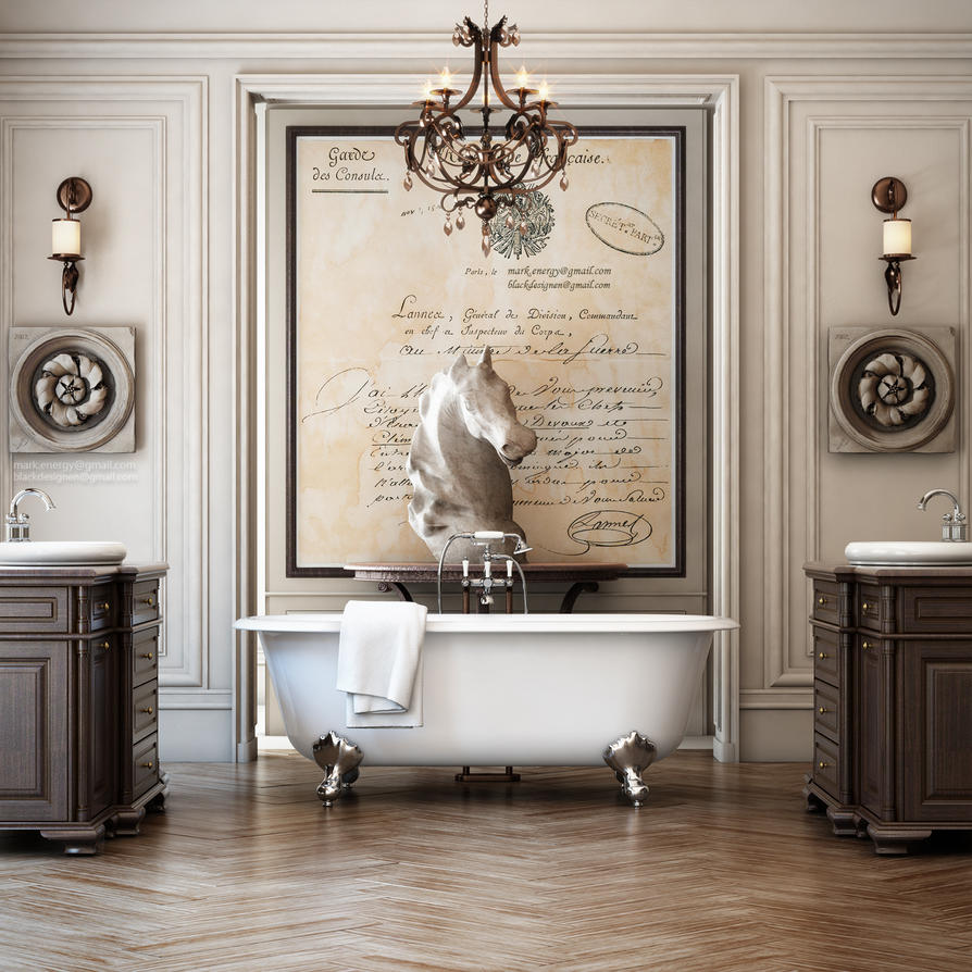 Luxury white bathroom mirrors classic luxury white bathroom mirrors classic metal framed in - Heavenly classic luxury bathrooms defining exclusive retreat for solitude time ...
