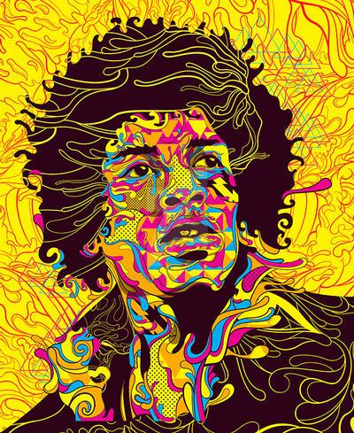 Hendrix by oliversantiago