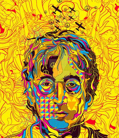 Lennon by oliversantiago