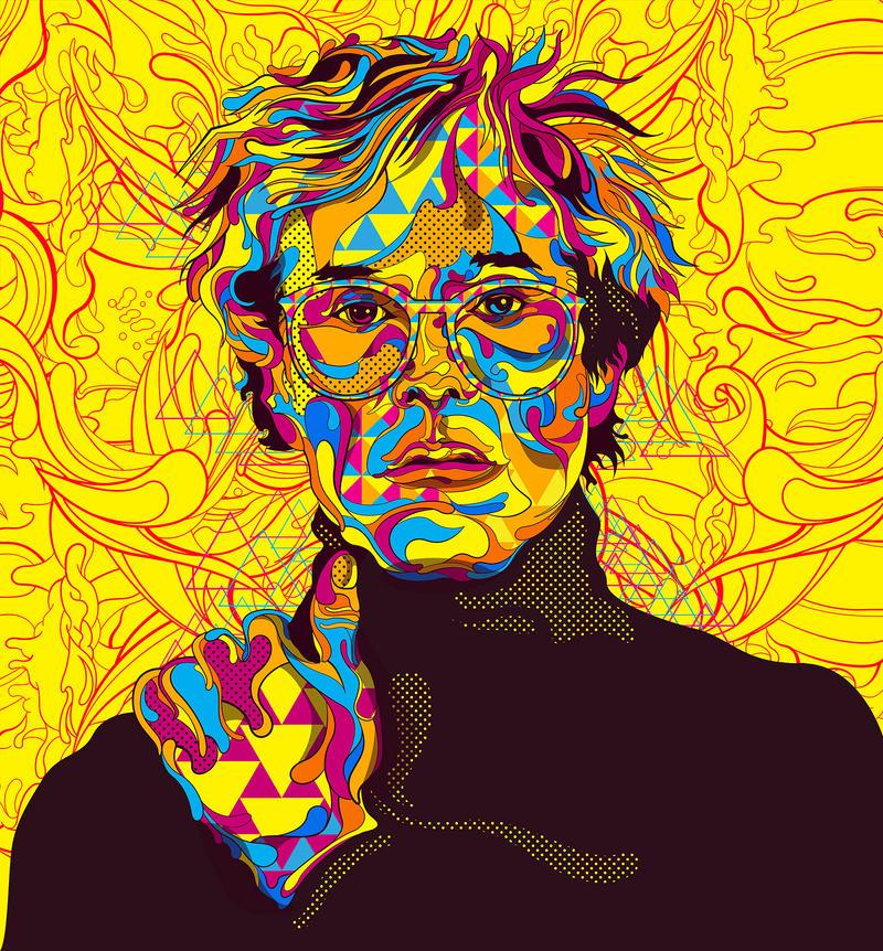 Andy Warhol by oliversantiago