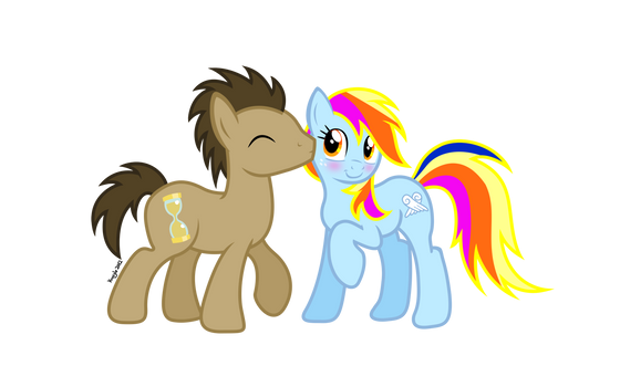 Whooves and Aurora (No background)