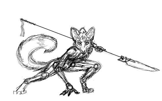 Determined Fox WIP 1