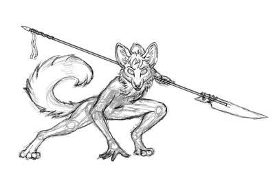 Determined Fox WIP 2