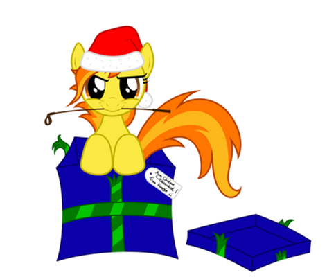 Gift wrapped Spitfire!