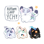 Kittom Loaf YCH Icon by fayeskies
