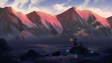 [Kiritsune Quest 2] Homeward-Bound by fayeskies