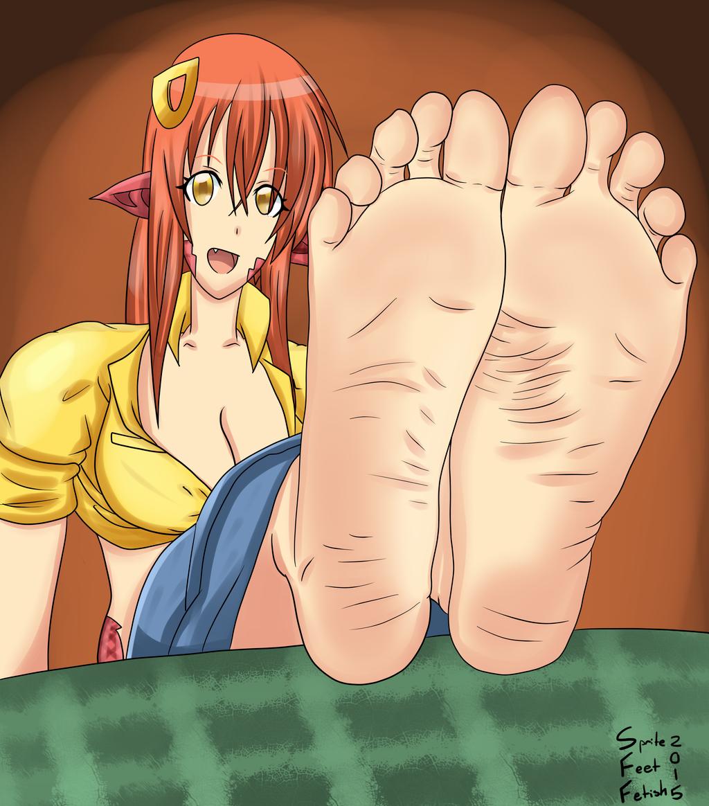 Lala the foot girl foot fetish sampler - 3 part 9