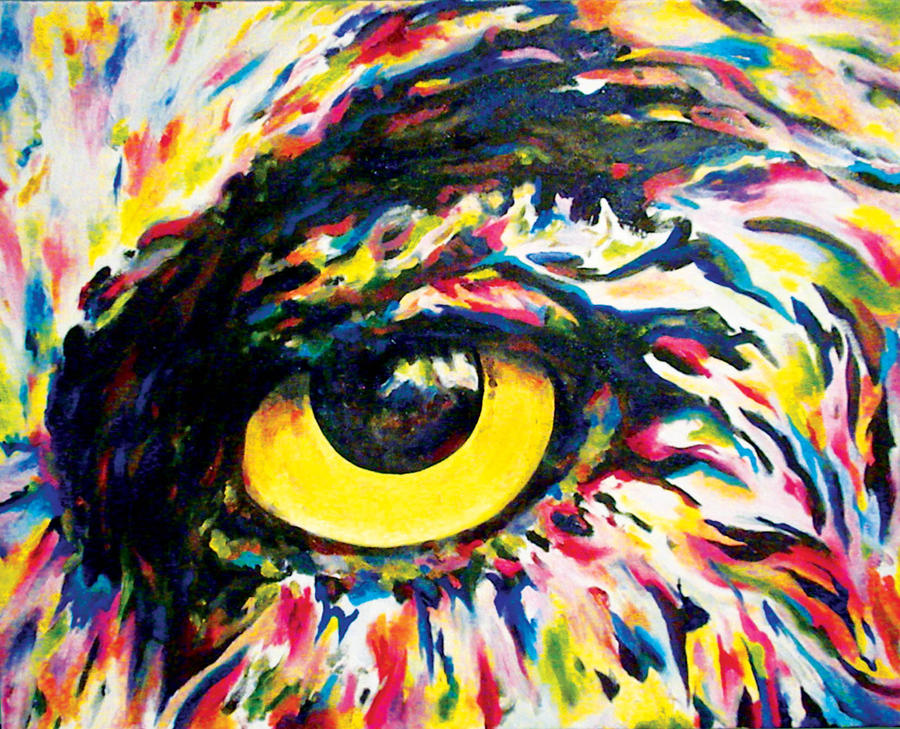 Rainbow Eye 2 by jirael on DeviantArt