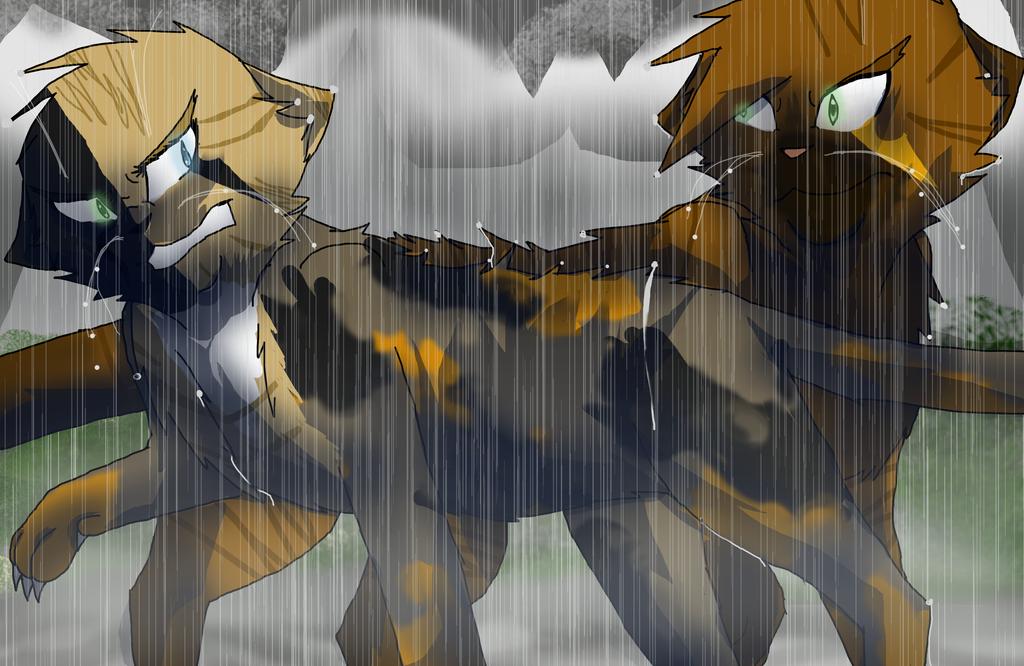 Sibling Rivarly Warrior Cats Oc Scene By Warriorcat3042