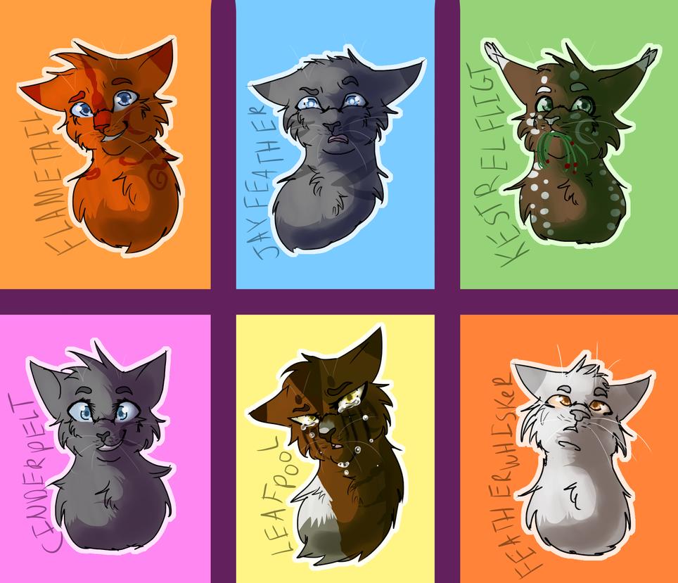 Warrior Cats Violet