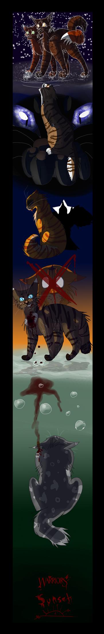 Warrior Cats- Sunset by WarriorCat3042
