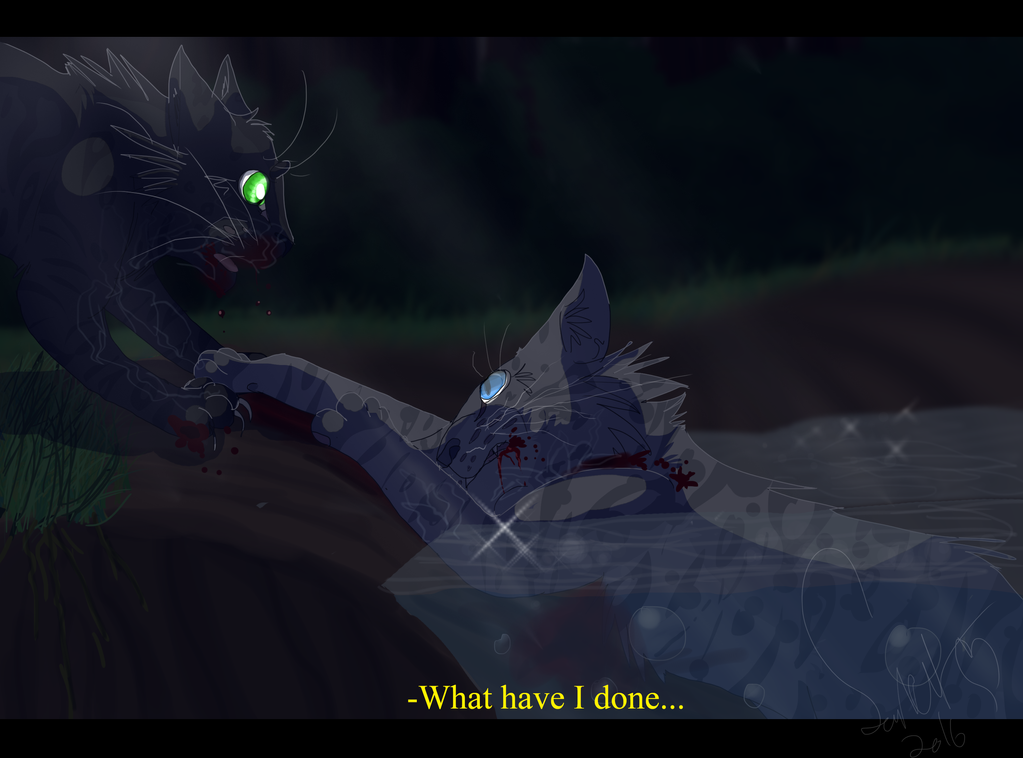 Cat Dying Warrior Cats