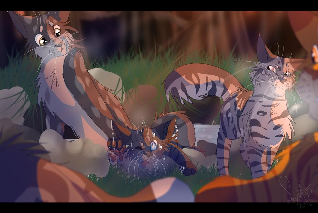 The  Giants Warrior Cat Speedpaint