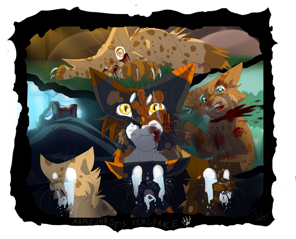 mapleshades vengeance warrior cats by warriorcat3042 on