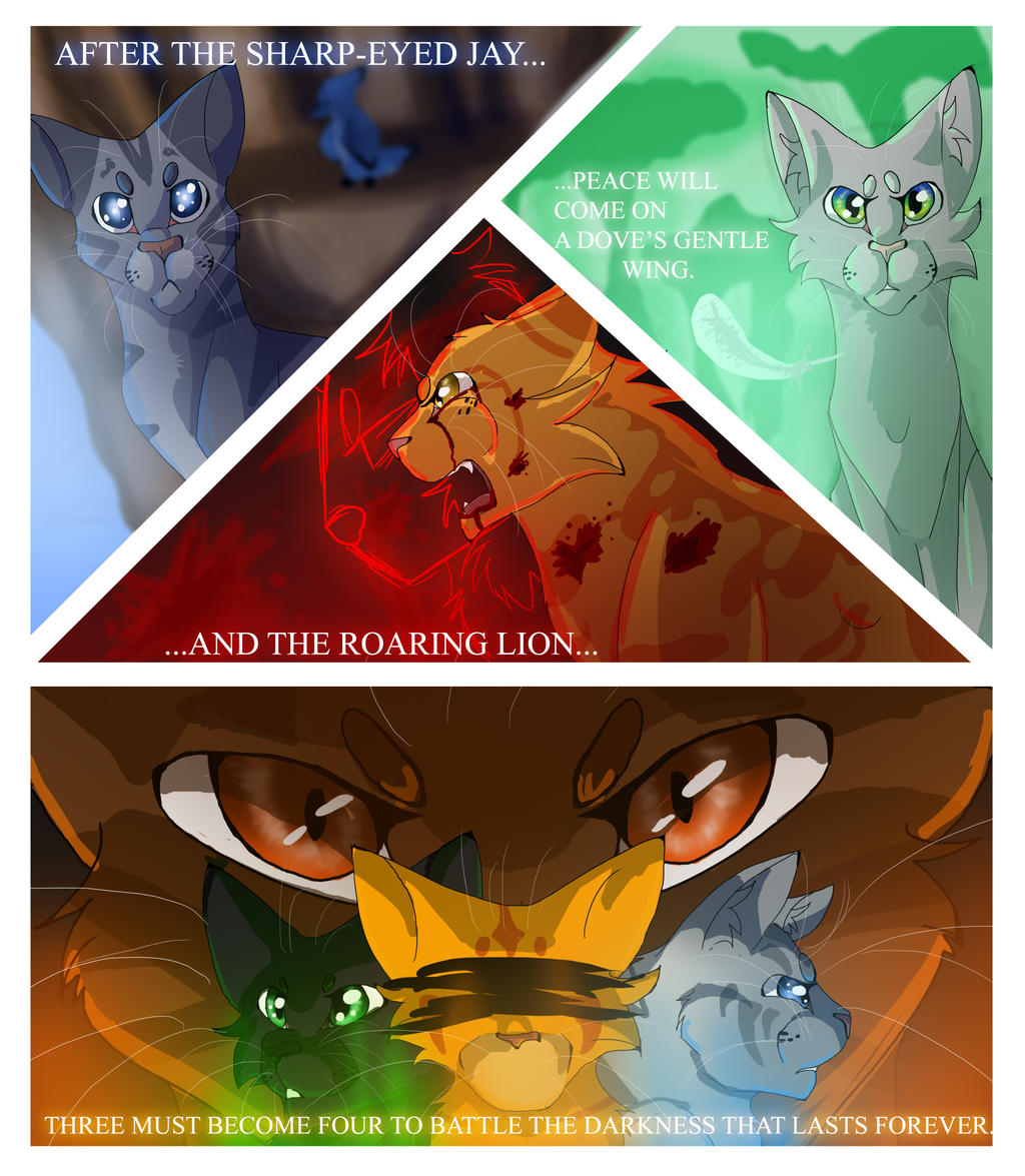 The power of three warrior cats by warriorcat3042 on The three cats