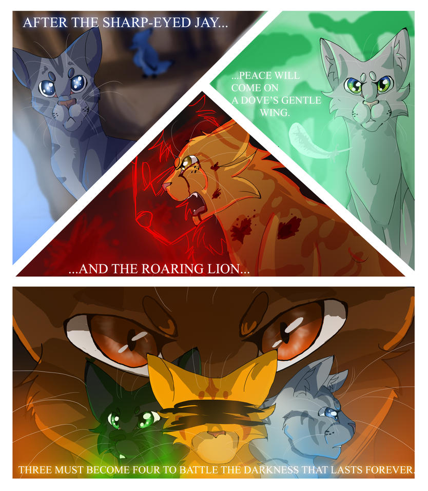 Warriors The New Prophecy Book 5: The Power Of Three (Warrior Cats) By WarriorCat3042 On