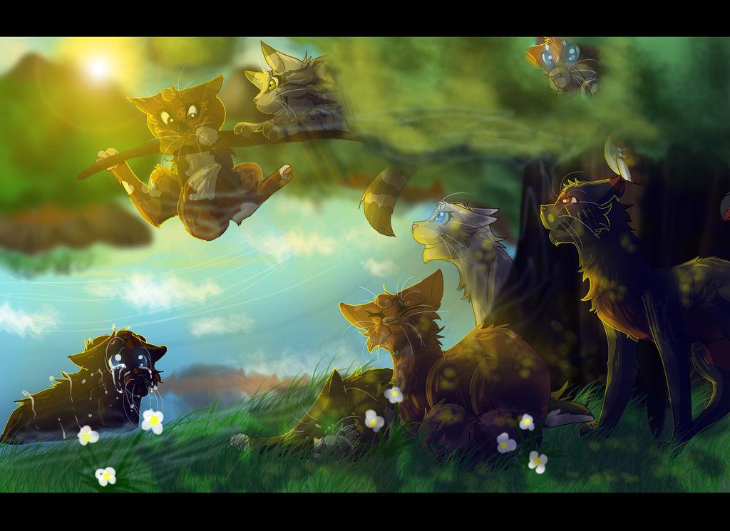 A ThunderClan Greenleaf (Warrior Cats) by WarriorCat3042 on