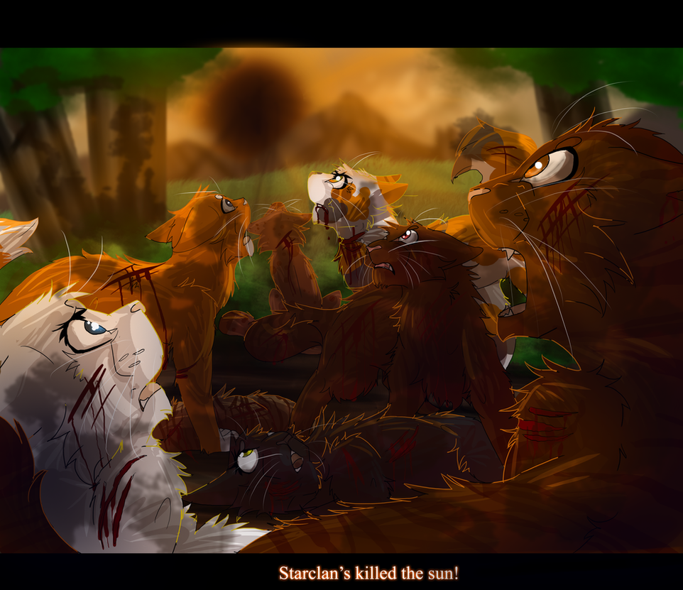 Warriors The New Prophecy Book 5: The Eclipse (Warrior Cats) By WarriorCat3042 On DeviantArt