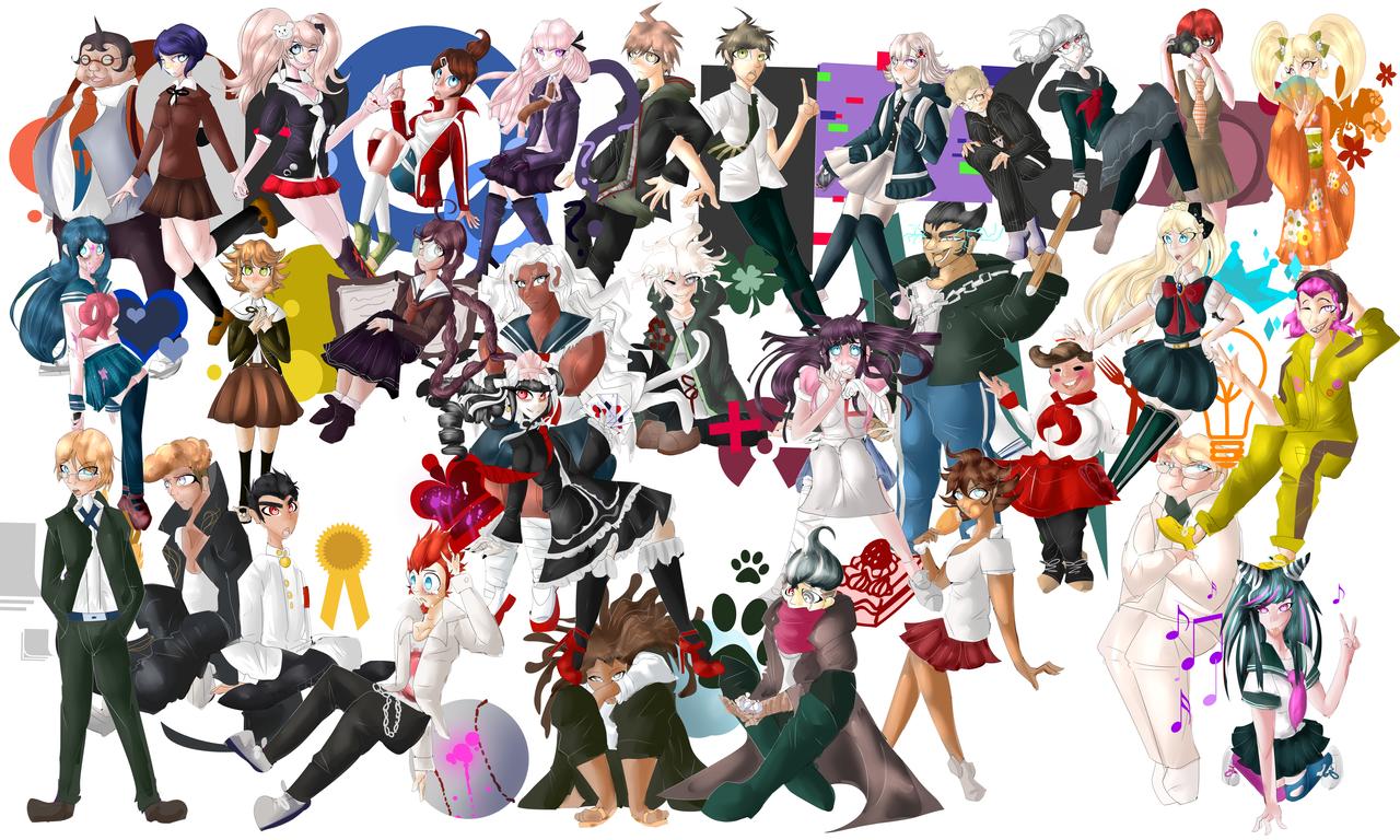 100+ Danganronpa 2 Characters Fan Art – yasminroohi