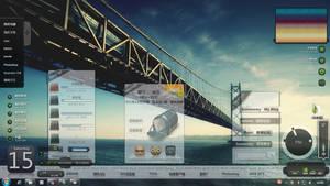 Desktop with xwidget