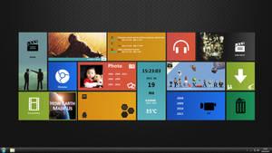 Desktop usesd XWidget1