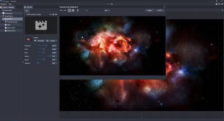 XWallpaper 1.91 Generate Nebula Animation OneClick