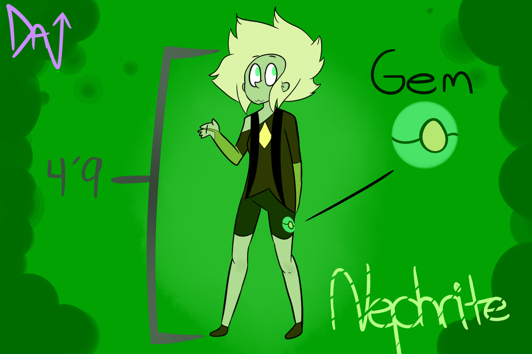 Nephrite Jade (Gemsona) By Imaginarydance On DeviantArt