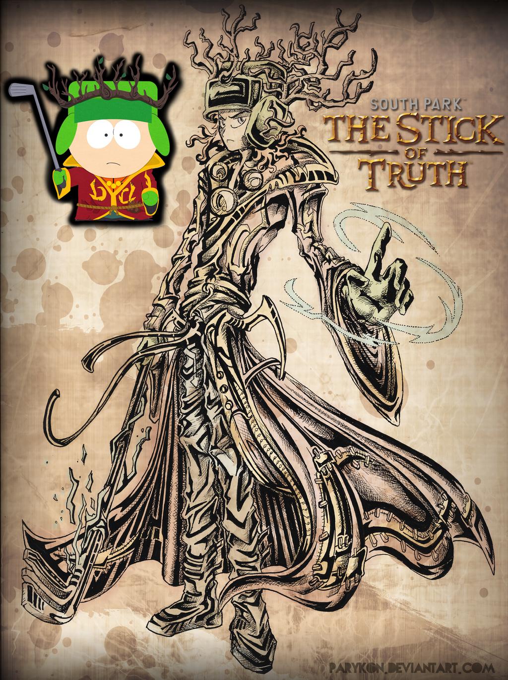 Kyle - South Park Stick of Truth by ParyKon on DeviantArt  Kyle South Park Stick Of Truth