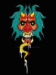 Mascara Oni by SamGranada