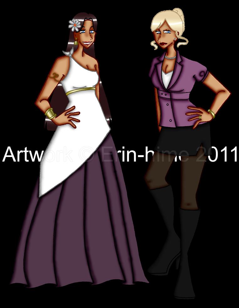 Goddesses by erin-hime