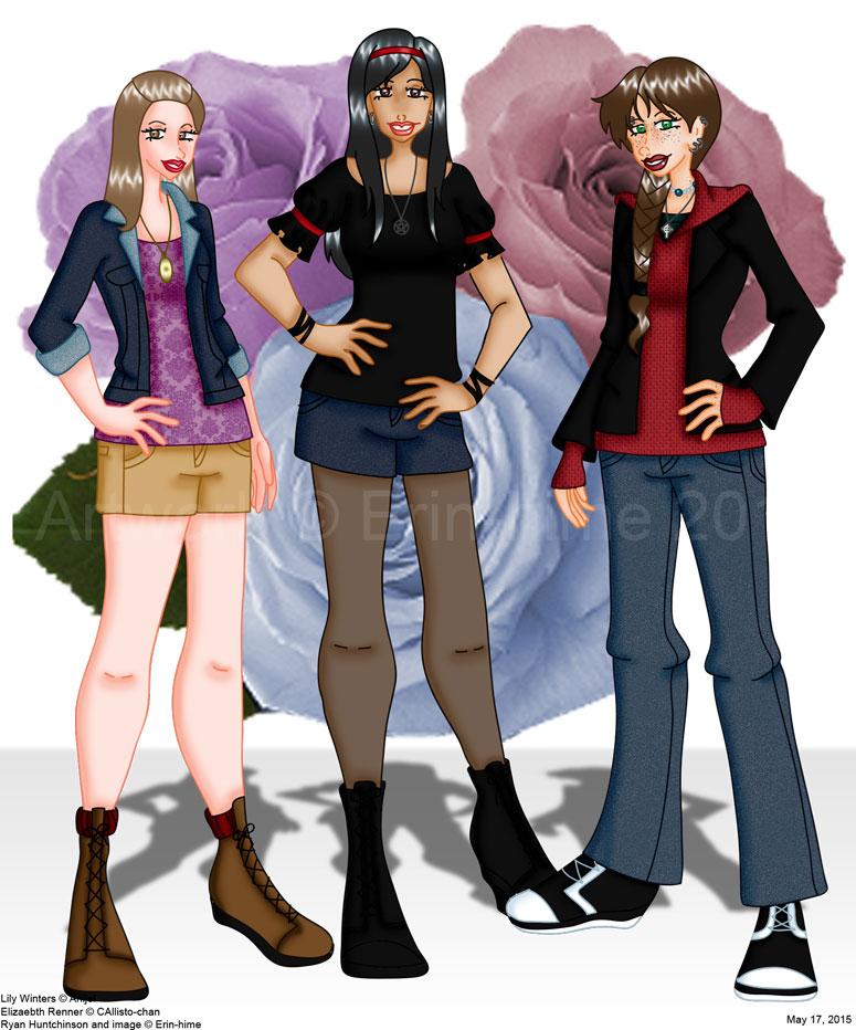 Vampire Girls by erin-hime
