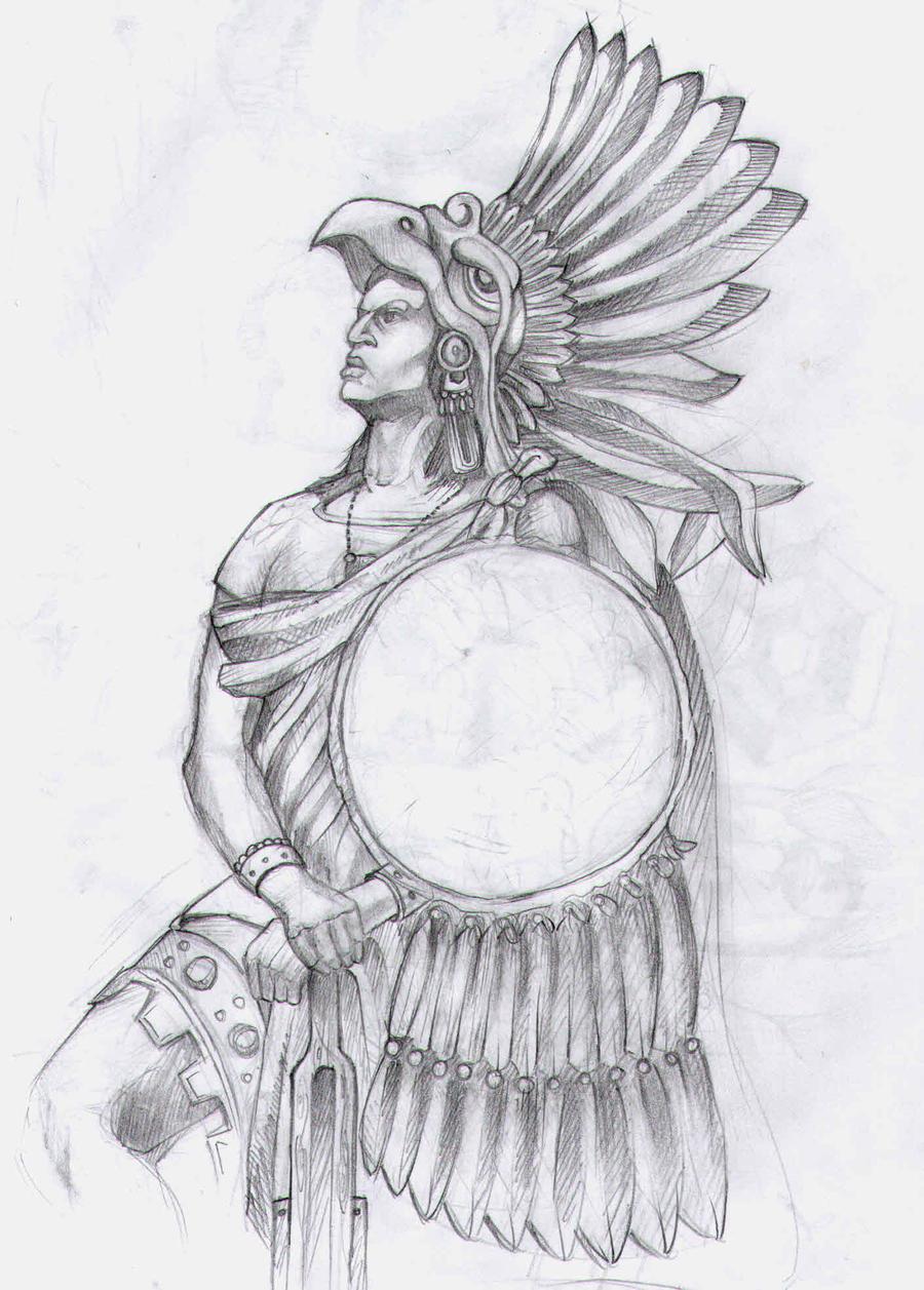 zero the aztec warrior...
