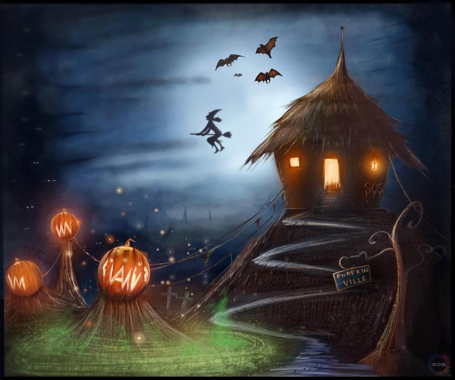 CW: Pumpkin Ville by GDSWorld