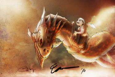 Dragon Boy by Iantoy by StilslizeR