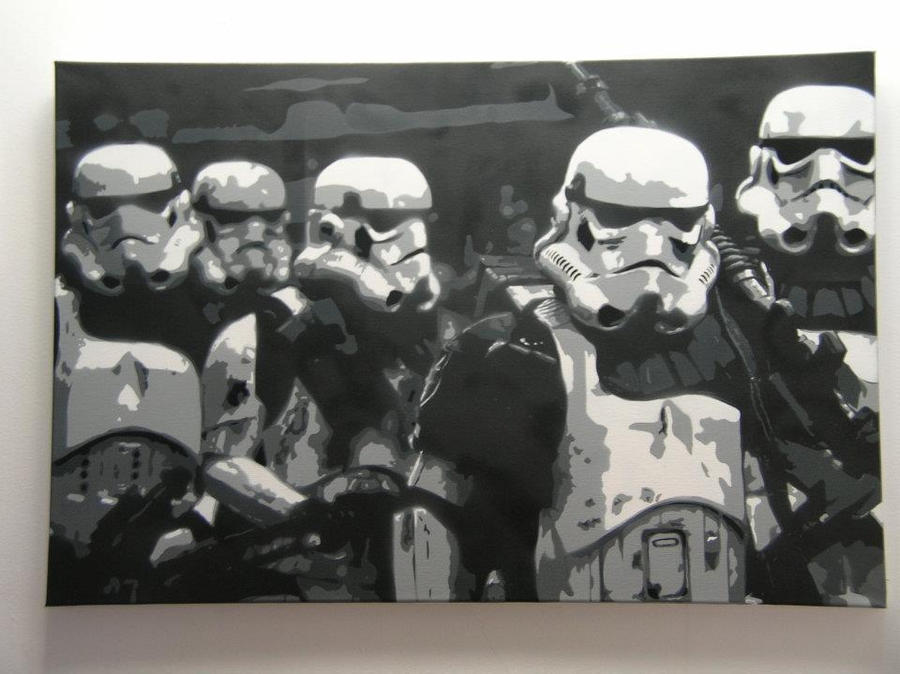 Stormtroopers by ryzlucas