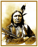 CHIEF BEAR FOOT-sioux by griffinpassant