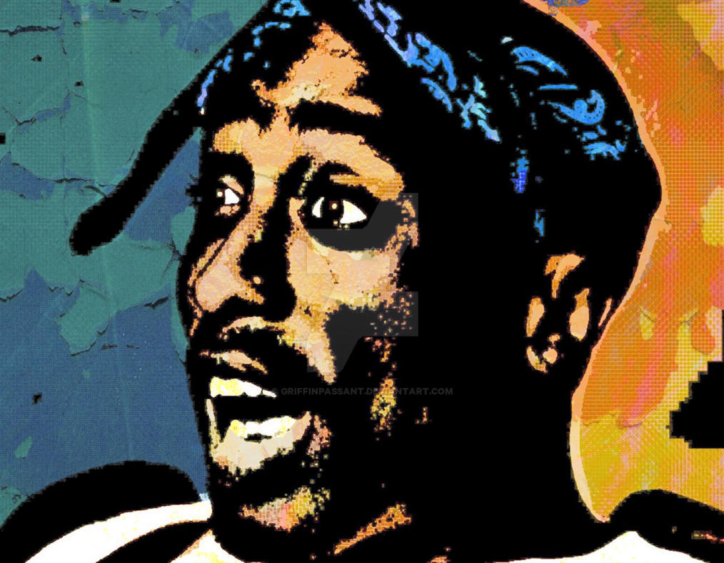 Tupac by griffinpassant