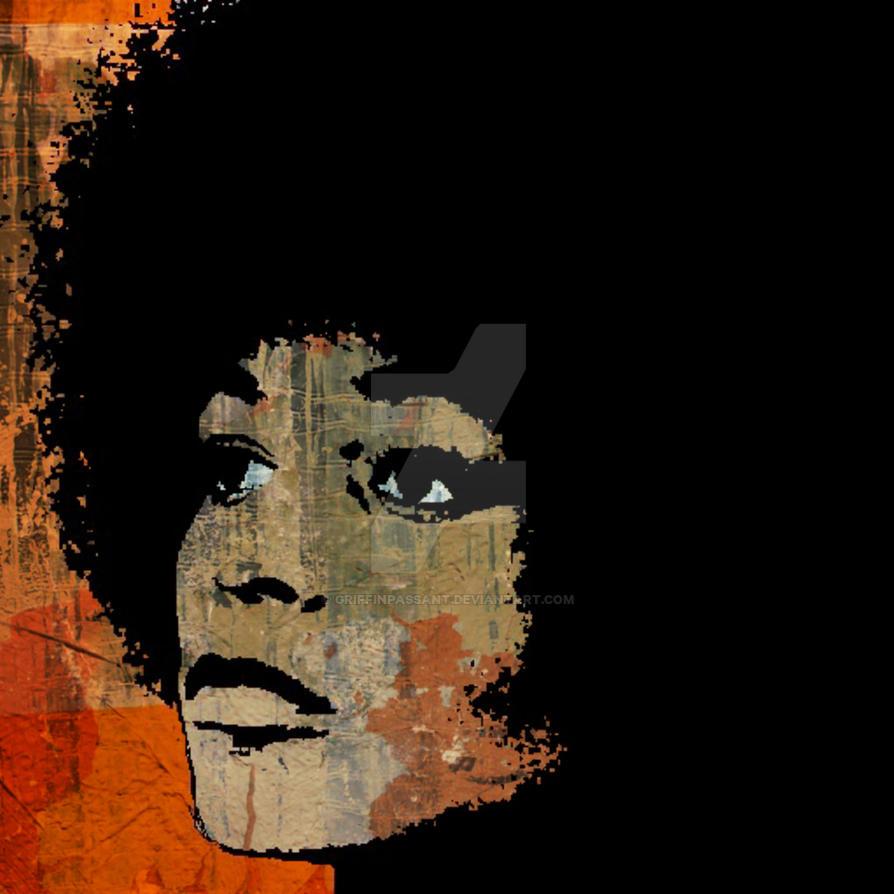 Angela Davis-2B by griffinpassant