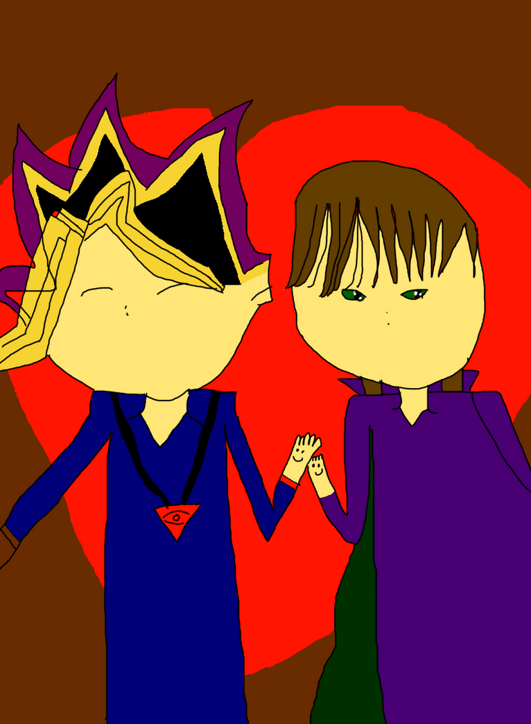 (COMMISSION) The Heart of the Cards Yugi and Kaiba by Sophiegirl2001