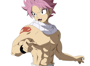 Natsu Shirtless - Fairy Tail