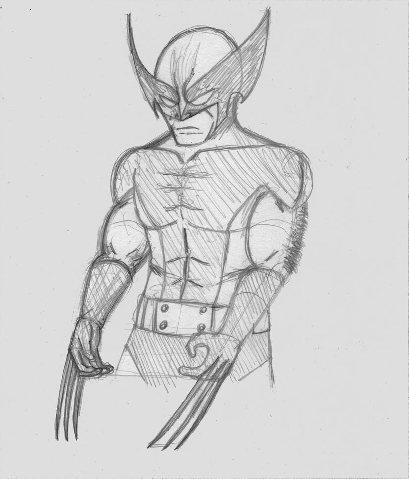 Another Wolverine sketch by nizebelami