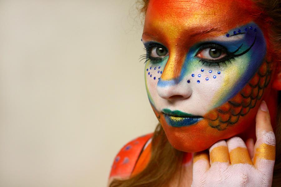 Clown Fish Face Paint