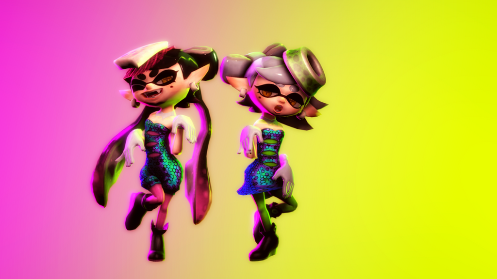 Callie And Marie Wallpaper