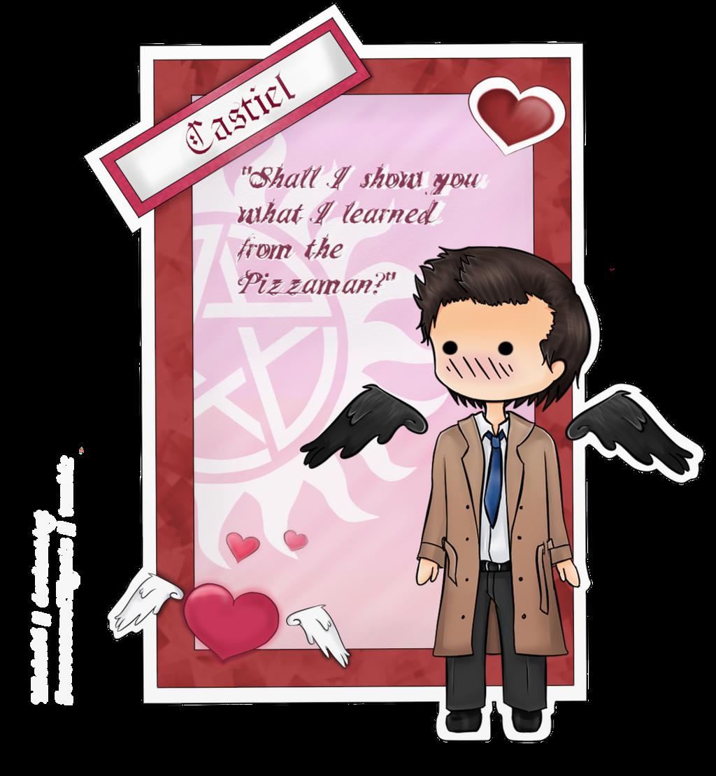 Supernatural Valentine # Cas By FallenRichardBrook Supernatural Valentine #  Cas By FallenRichardBrook