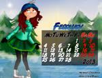 Calendar Hey Arnold February