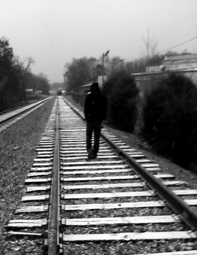 A Boy Walking Away From A Girl     Girl walking away from boy
