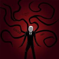 Slender Man's Rage by SatoshiII