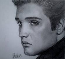 Elvis Presley by rukkuss