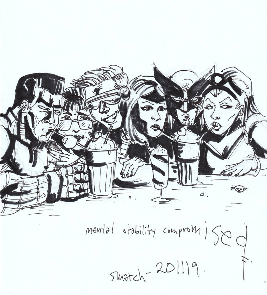 X-Men Friends sitcom ...? by FreshNightmare
