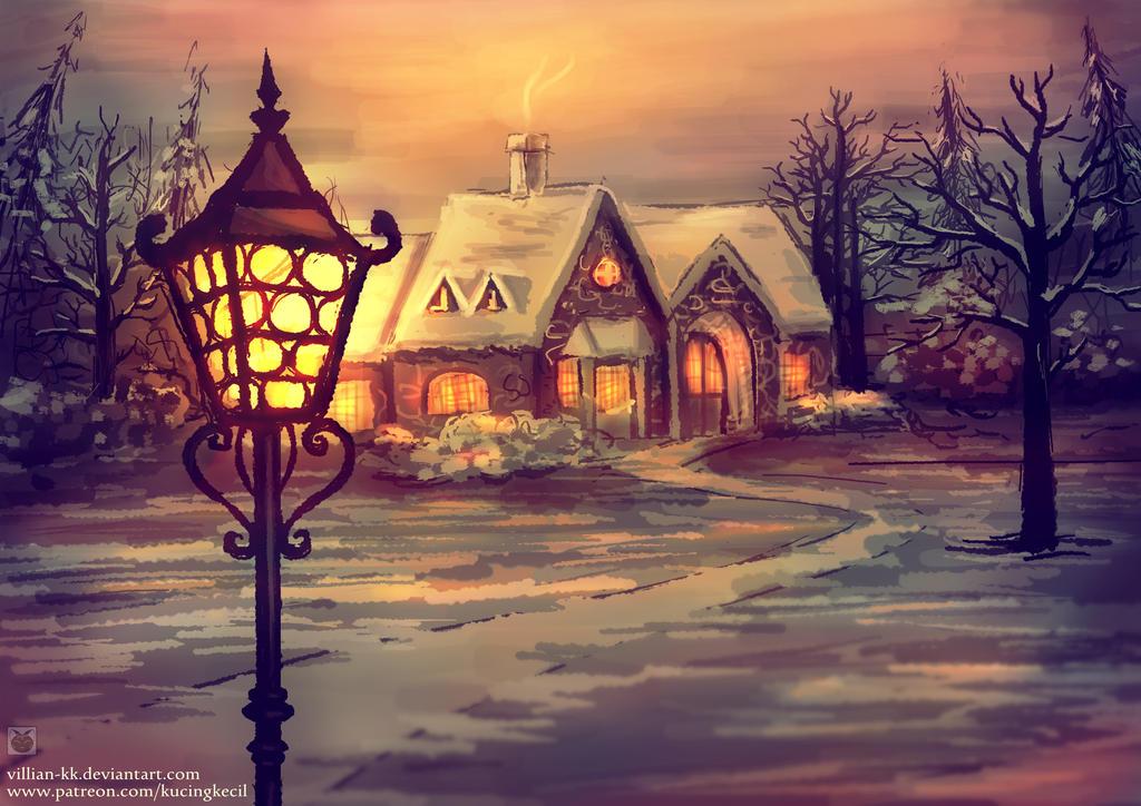 Lamp of Light - Original version by Villian-KucingKecil
